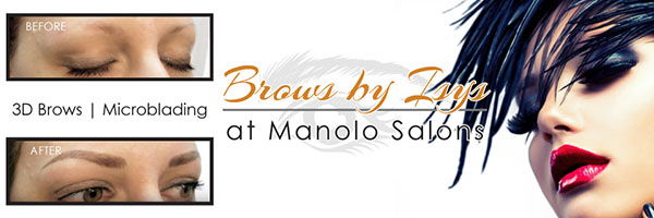 Brows by Isys at Manolo Salons
