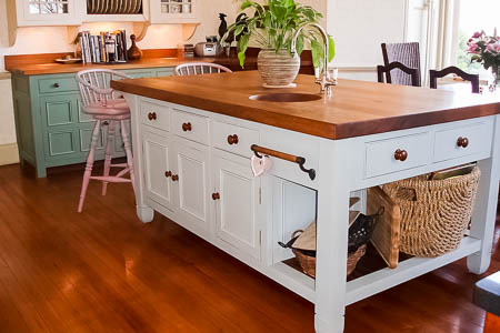 Painted Kitchen Cabinets Vs Stained painting vs. staining: cabinet coloring showdown - our pros know