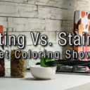 Painting Vs. Staining: Cabinet Coloring Showdown