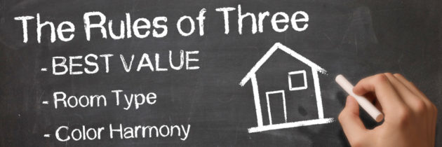 "Smart Value Decisions, Featuring Our ""Rules of Three"" – Part One"