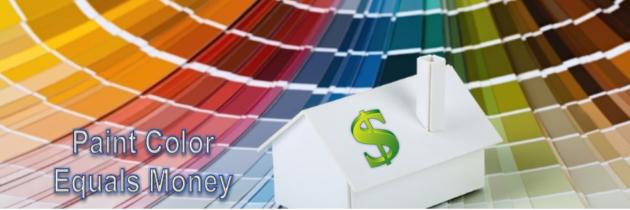Paint Color Equals Money