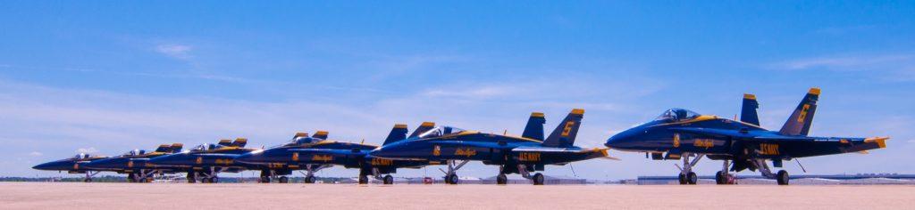 Air Show Blue Angels